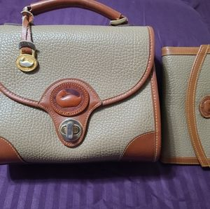 Dooney & Bourne all weather leather purse and matc